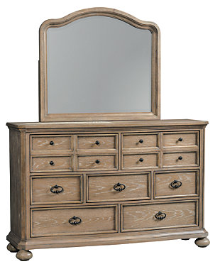pier bedroom mirror country pic furniture nightstands and dressers mirrored goods home chest dresser