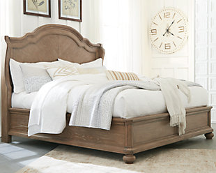 Ollesburg Queen Panel Bed, , rollover