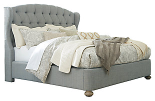 Ollesburg Queen Upholstered Bed, , large
