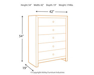 Mayflyn Chest of Drawers, , large