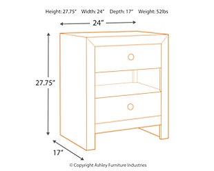 Mayflyn Nightstand, , large