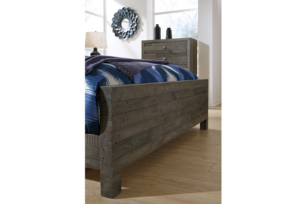 Mayflyn Queen Panel Bed, Gray, large