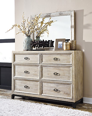 Halamay Dresser and Mirror, , rollover