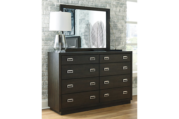 Hyndell Dresser and Mirror, , large
