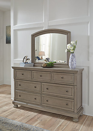 Lettner Dresser and Mirror, , rollover