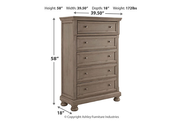 Lettner Chest of Drawers, , large