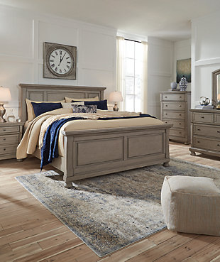 Lettner Queen Panel Bed Ashley Furniture Homestore