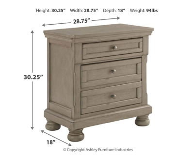 Picture of: Lettner Nightstand Ashley Furniture Homestore