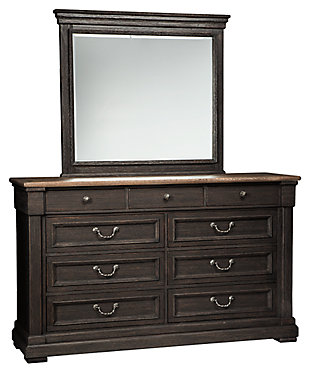 Tyler Creek Dresser And Mirror, ...