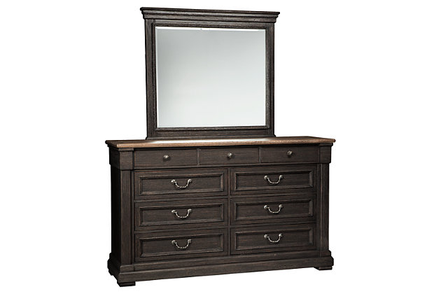Tyler Creek Dresser And Mirror Ashley Furniture Homestore