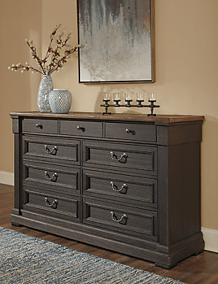Tyler Creek Dresser and Mirror, , large