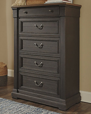 Tyler Creek Chest of Drawers, , rollover