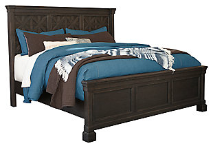 Tyler Creek Queen Panel Bed, , large