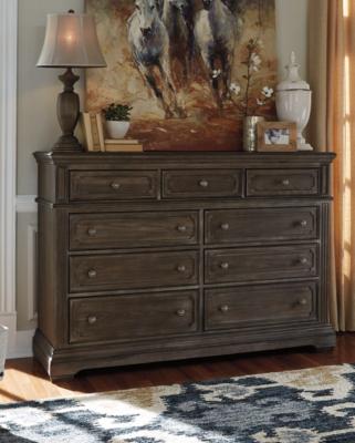 Brown Metallic Dresser Product Photo 675
