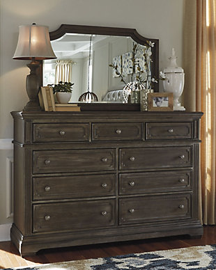 Mikalene Dresser and Mirror, , rollover