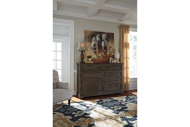 Mikalene Dresser and Mirror, , large