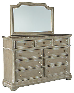 Borlend Dresser and Mirror, , large