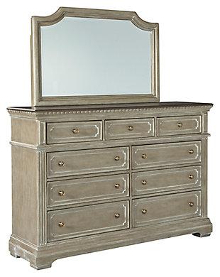 Borlend Dresser and Mirror, , large