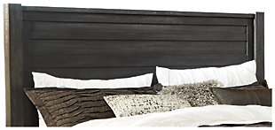 Baylow Queen Panel Headboard, Black, large
