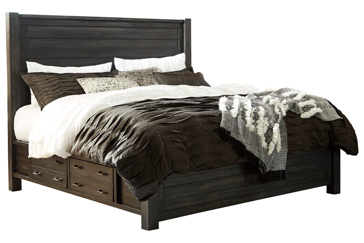 Prime Baylow Queen Panel Bed With 4 Storage Drawers Ashley Caraccident5 Cool Chair Designs And Ideas Caraccident5Info