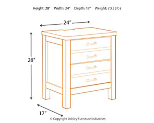 Baylow Nightstand, , large