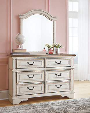Realyn Dresser and Mirror, , rollover