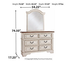 Realyn Dresser and Mirror, , large