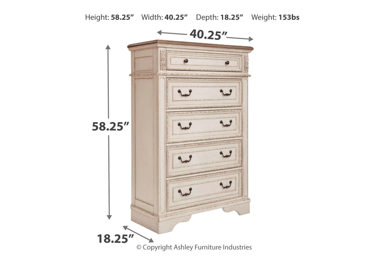 Realyn Chest Of Drawers Images