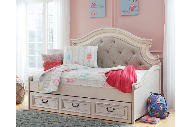 Realyn Twin Day Bed With Storage Ashley Furniture Homestore