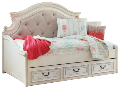 - Realyn Twin Daybed With 1 Large Storage Drawer Ashley Furniture
