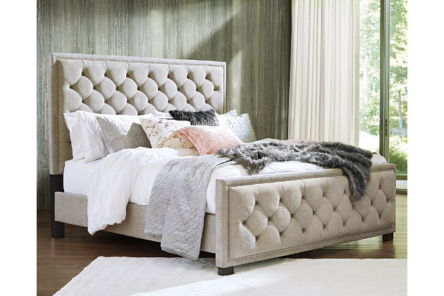 Bellvern Queen Upholstered Bed Ashley Furniture Homestore