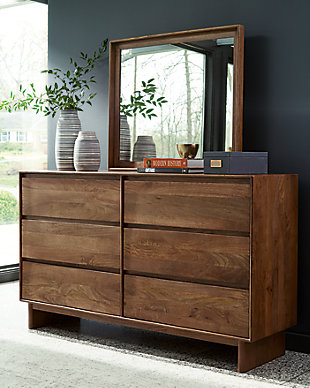 Isanti Dresser and Mirror, , rollover