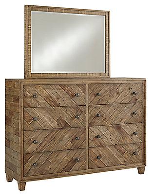 Grindleburg Dresser and Mirror, , large