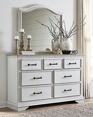Teganville Dresser and Mirror, , rollover