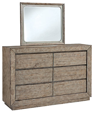 Langford Dresser and Mirror, , large
