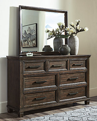 Johurst Dresser and Mirror, , rollover