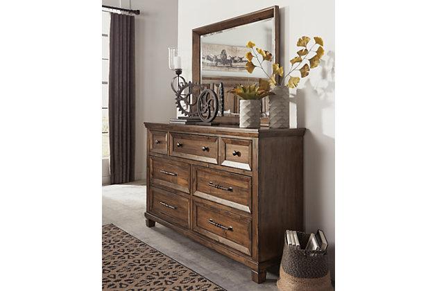 Royard Dresser and Mirror, , large