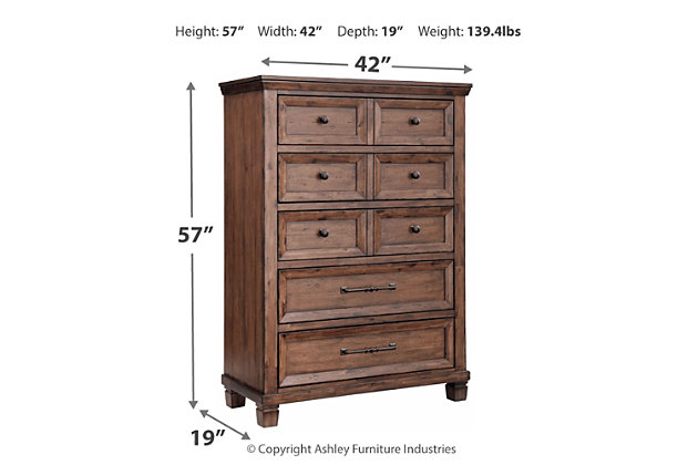 Royard Chest of Drawers, , large