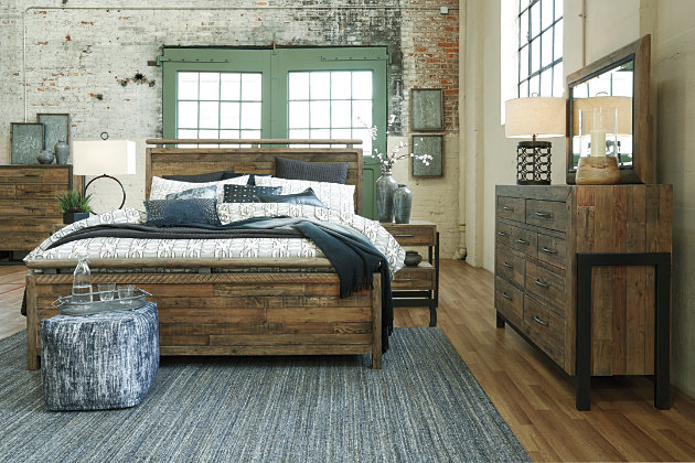Sommerford King Panel Bed Ashley Furniture Homestore