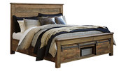 Sommerford Queen Storage Bed, Brown, large