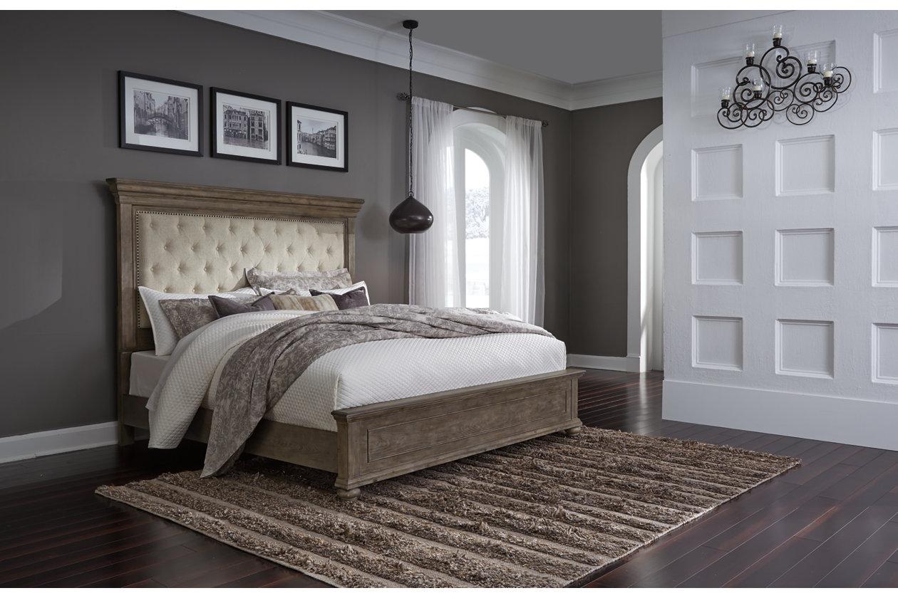 Johnelle Queen Upholstered Panel Bed Ashley Furniture Homestore