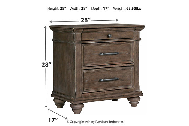 Johnelle Nightstand, , large