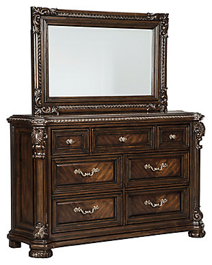Valraven Dresser and Mirror, , large