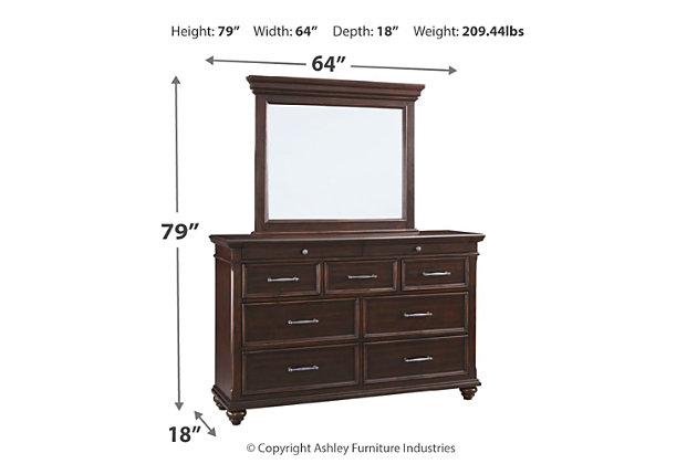 Brynhurst Dresser and Mirror, , large