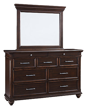 Brynhurst Dresser and Mirror, , large