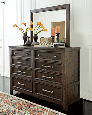 Hillcott Dresser and Mirror, , rollover