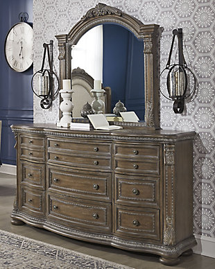 Charmond Dresser and Mirror, , rollover