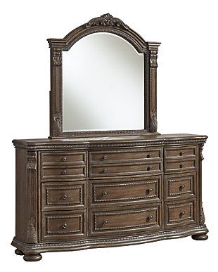 Charmond Dresser and Mirror, , large
