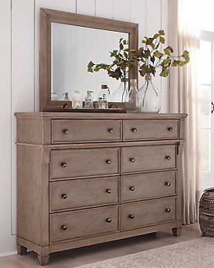 Challene Dresser and Mirror, , large