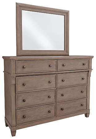 Challene Dresser and Mirror, , large